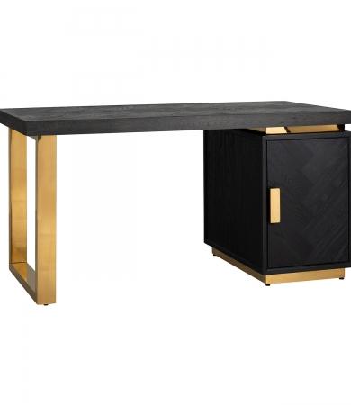 Black And Gold Desk