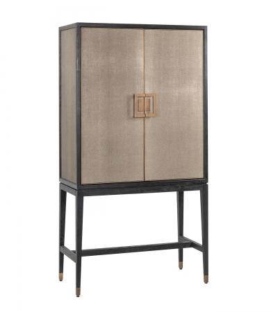 Shagreen Bar Cabinet