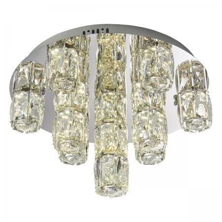 Cluster of Crystals Semi-Flush Ceiling Light