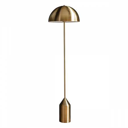 Nova Floor Light in Antique Brass