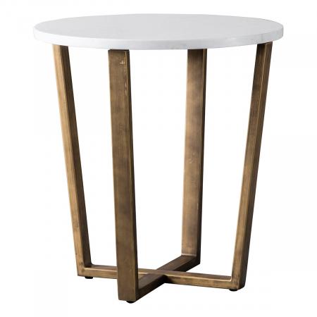 Volakas Marble Side Table