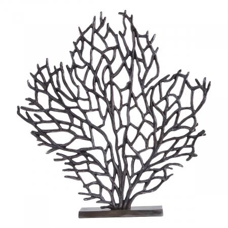 Contemporary Black Tree Sculpture